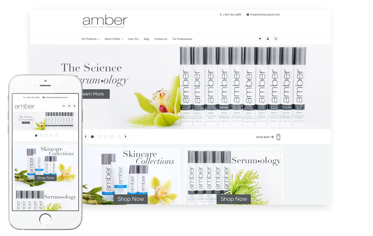 Custom Blog & Website Design